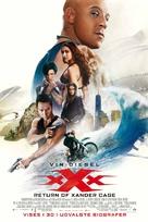 xXx: Return of Xander Cage - Danish Movie Poster (xs thumbnail)