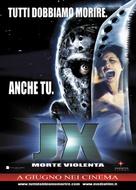 Jason X - Italian Movie Poster (xs thumbnail)