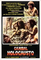 Cannibal Holocaust - Spanish Movie Poster (xs thumbnail)