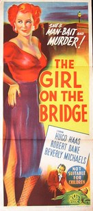 The Girl on the Bridge - Australian Movie Poster (xs thumbnail)