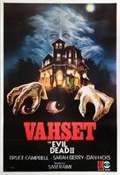 Evil Dead II - Turkish Movie Poster (xs thumbnail)
