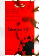 Fahrenheit 451 - Yugoslav Movie Poster (xs thumbnail)