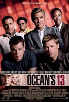 Ocean's Thirteen - Swedish Movie Poster (xs thumbnail)