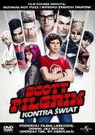 Scott Pilgrim vs. the World - Polish DVD cover (xs thumbnail)