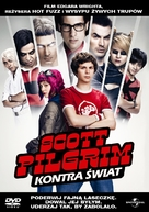 Scott Pilgrim vs. the World - Polish DVD movie cover (xs thumbnail)