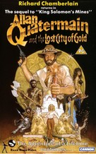Allan Quatermain and the Lost City of Gold - British VHS movie cover (xs thumbnail)