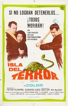 Island of Terror - Argentinian Movie Poster (xs thumbnail)