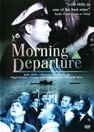 Morning Departure - British DVD movie cover (xs thumbnail)