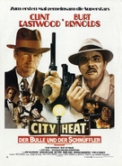 City Heat - German Movie Poster (xs thumbnail)