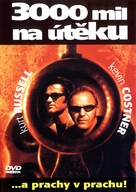 3000 Miles To Graceland - Czech DVD movie cover (xs thumbnail)