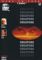 Creature - Spanish DVD cover (xs thumbnail)