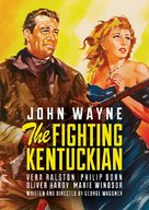 The Fighting Kentuckian - DVD cover (xs thumbnail)