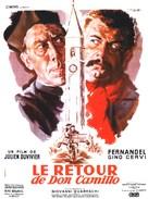 Le retour de Don Camillo - French Movie Poster (xs thumbnail)