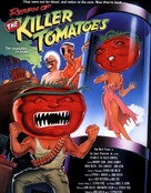 Return of the Killer Tomatoes! - British Movie Poster (xs thumbnail)