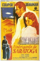 Saratoga Trunk - French Movie Poster (xs thumbnail)