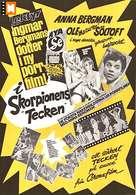 Agent 69 Jensen i Skorpionens tegn - Swedish Movie Poster (xs thumbnail)