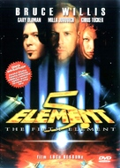 The Fifth Element - Czech DVD cover (xs thumbnail)