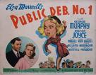 Public Deb No. 1 - Movie Poster (xs thumbnail)