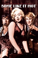 Some Like It Hot - VHS movie cover (xs thumbnail)
