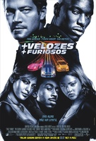 2 Fast 2 Furious - Brazilian Movie Poster (xs thumbnail)