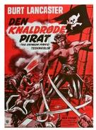 The Crimson Pirate - Danish Movie Poster (xs thumbnail)