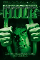 The Trial of the Incredible Hulk - German VHS cover (xs thumbnail)
