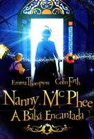 Nanny McPhee - Brazilian DVD movie cover (xs thumbnail)