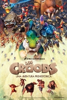 The Croods - Spanish Movie Poster (xs thumbnail)