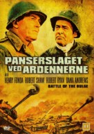 Battle of the Bulge - Danish DVD cover (xs thumbnail)