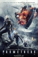Prometheus - Icelandic Movie Poster (xs thumbnail)