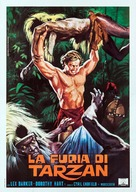 Tarzan's Savage Fury - Italian Movie Poster (xs thumbnail)