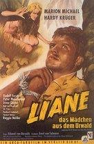 Liane, das Mädchen aus dem Urwald - German Movie Poster (xs thumbnail)