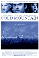 Cold Mountain - Advance movie poster (xs thumbnail)