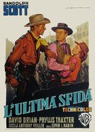 Fort Worth - Italian Movie Poster (xs thumbnail)