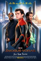 Spider-Man: Far From Home - Lithuanian Movie Poster (xs thumbnail)