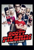 Scott Pilgrim vs. the World - Slovenian Movie Poster (xs thumbnail)