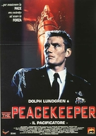 The Peacekeeper - Italian Movie Poster (xs thumbnail)