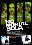 No moriré sola - Argentinian Movie Poster (xs thumbnail)