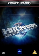 The Hitchhiker's Guide to the Galaxy - British DVD cover (xs thumbnail)