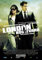 London Boulevard - Romanian Movie Poster (xs thumbnail)