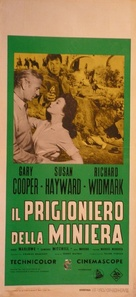 Garden of Evil - Italian Movie Poster (xs thumbnail)