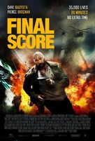 Final Score - British Movie Poster (xs thumbnail)