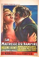 L'amante del vampiro - Belgian Movie Poster (xs thumbnail)