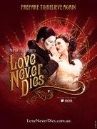 Love Never Dies - Australian Movie Poster (xs thumbnail)