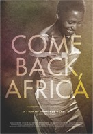 Come Back, Africa - Movie Poster (xs thumbnail)