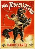 The Devil Horse - German Movie Poster (xs thumbnail)