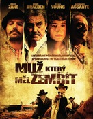 The Man Who Came Back - Czech Movie Cover (xs thumbnail)