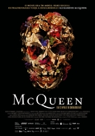 McQueen - Romanian Movie Poster (xs thumbnail)