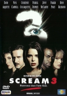 Scream 3 - French DVD movie cover (xs thumbnail)