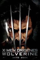 X-Men Origins: Wolverine - Mexican Movie Poster (xs thumbnail)